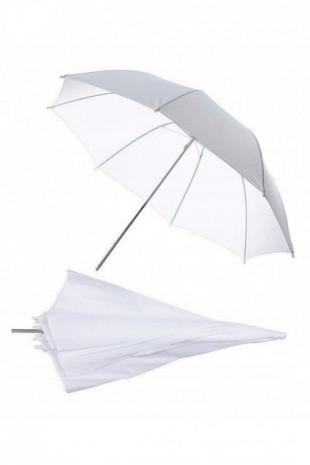 Parasolka biała 110cm...