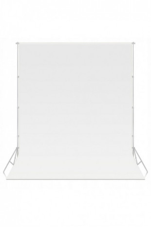 Tło białe white 1.6x2.7m...