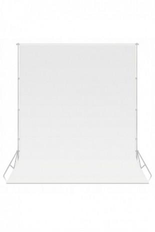 Tło foto białe white 3x3m...