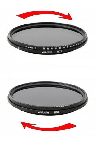 Filtr pełny NDX 55 mm...